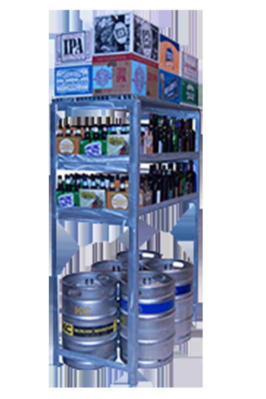 No Lift Keg Shelf NLR