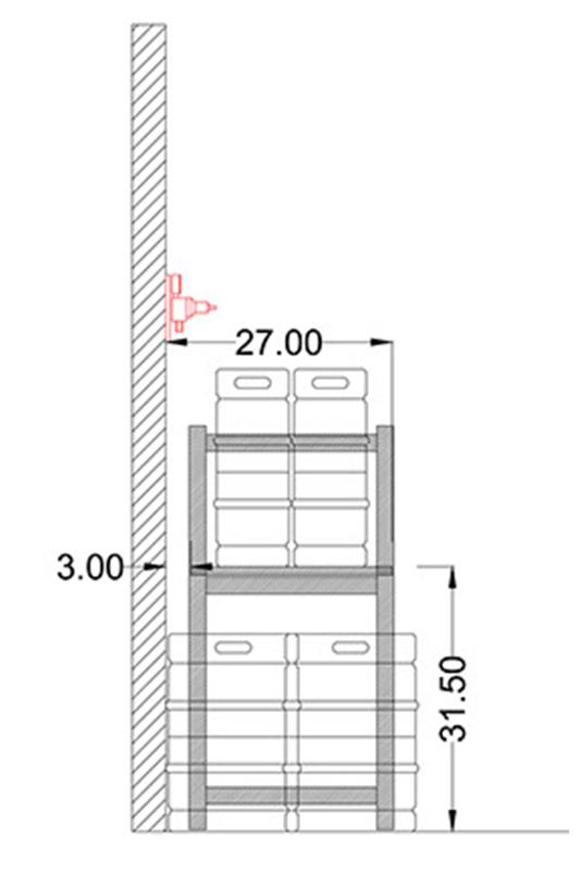 No Lift Keg Shelf